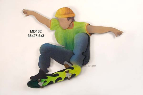 New Skateboarder Wall Art