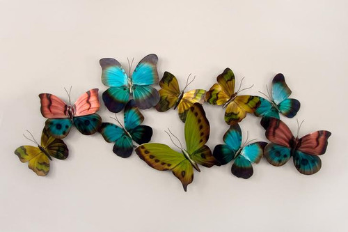Mixed Flight Horizontal  Butterflies