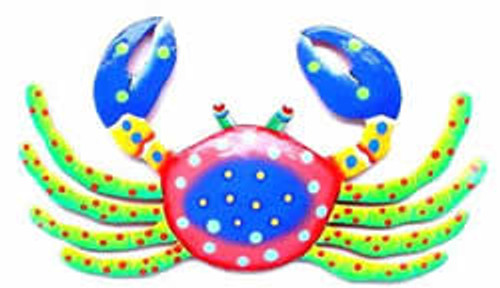 Funky Crab Haitian Metal Wall Art