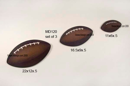 Footballs Kids Wall Decor