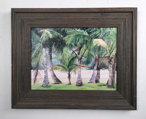Coconut Palms Painting