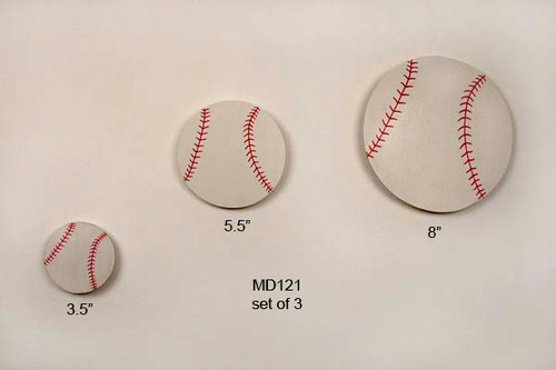 Baseballs Kids Wall Art