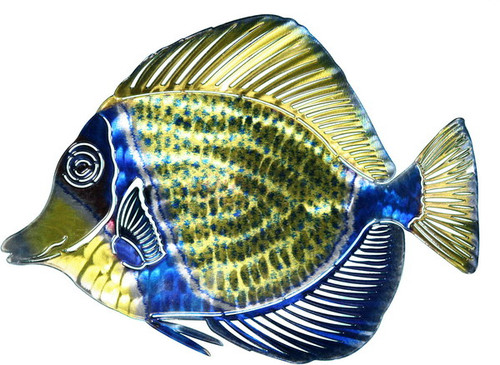 Tropical Fish - Metal Wall Art