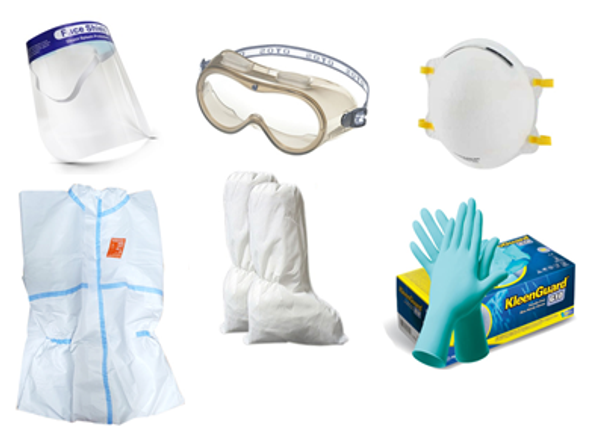 Medical Protective Gear 7 in 1 for Healthcare Workers