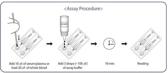 GenBody COVID-19 IgM/IgG - Antibody Test