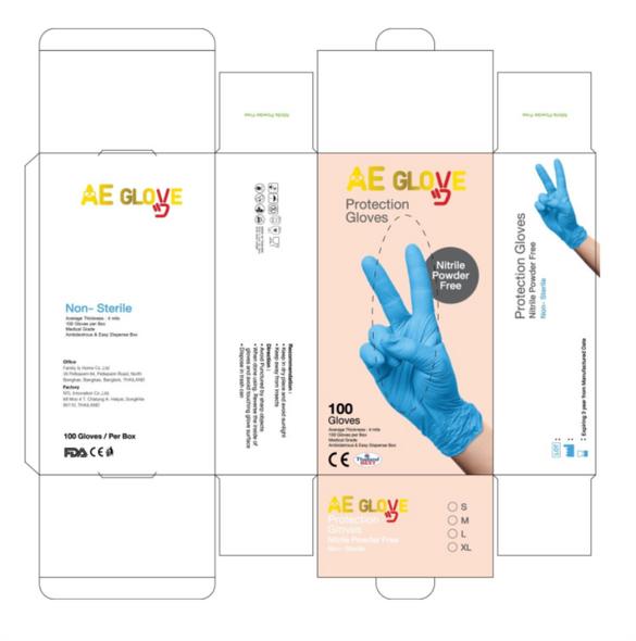 AEGlove Nitrile Glove