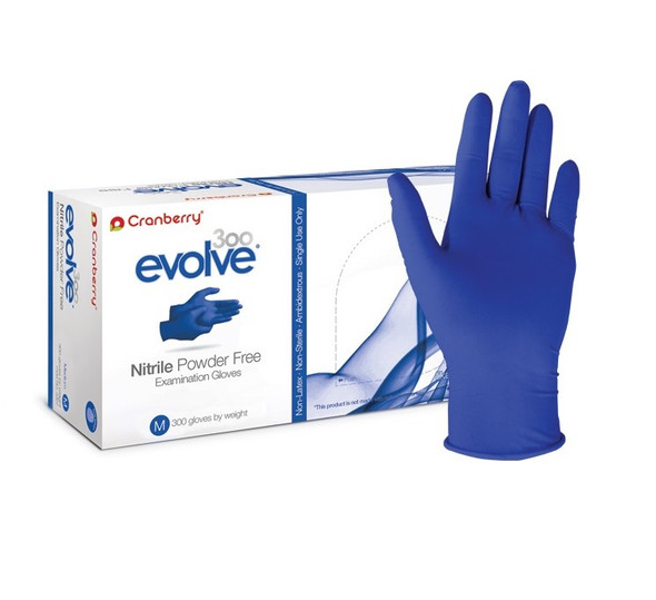 Cranberry Nitrile Gloves