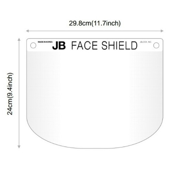 JB Block Face Shield