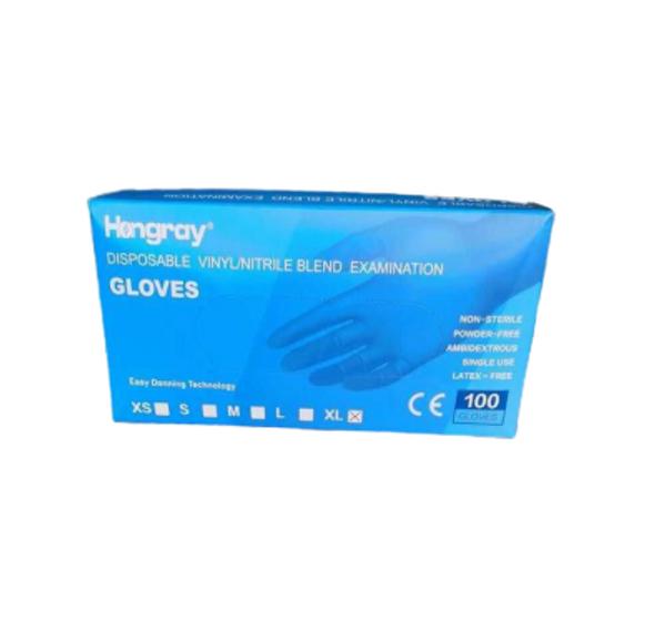 Hongray Vinyl/Nitrile Blend Gloves