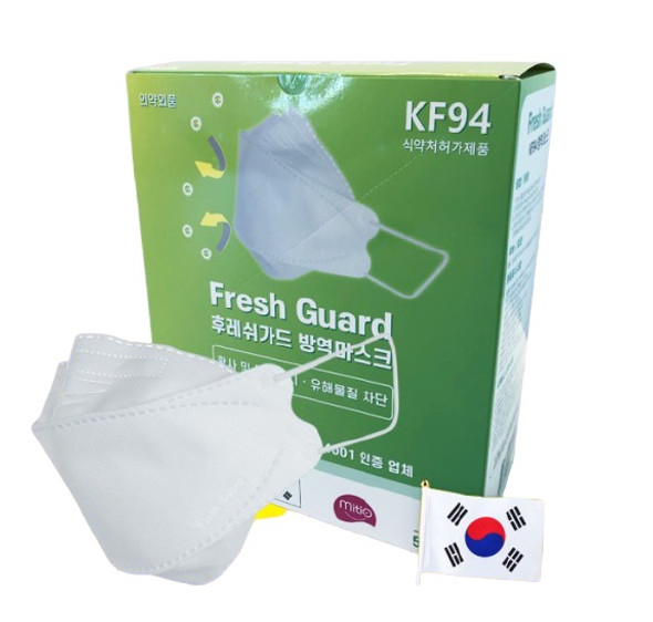 Fresh Guard KF94 (Korean Filter) Mask