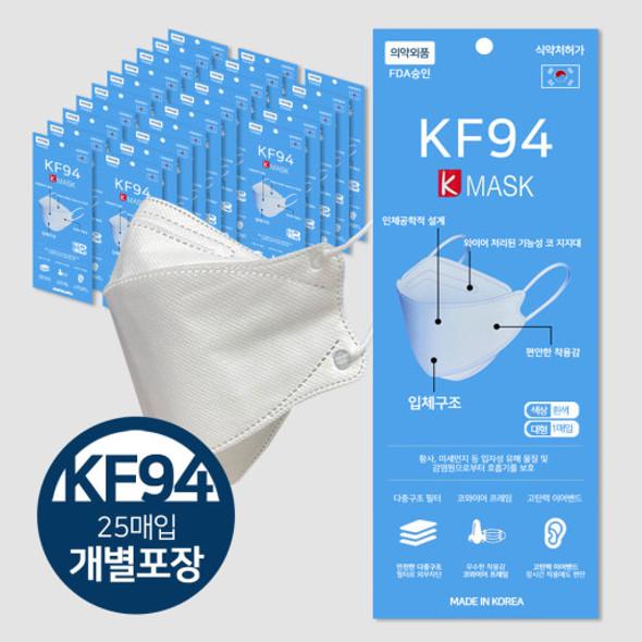 KMask KF94 (Korean Filter) Mask