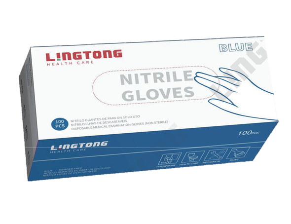 LingTong Nitril Gloves by Med Gear USA