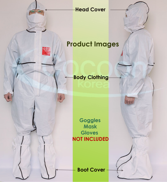 Level D Protective Coverall + Boots
