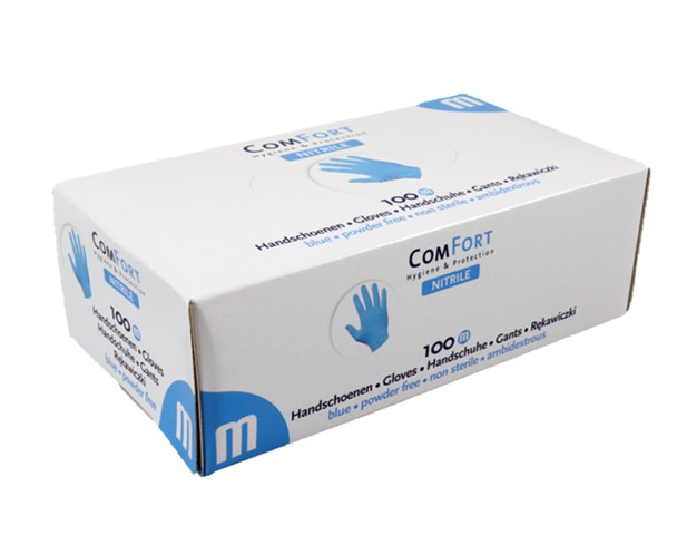 Comfort Nitrile Glove Chemo Rated by Med Gear USA