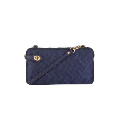 Mona B Posie Crossbody Navy