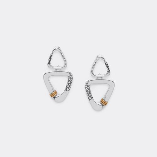 Ori Tao NOTORIOUS BIG 2 Triangle Earring