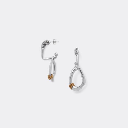 Ori Tao NOTORIOUS BIG Ring on Creole Earring