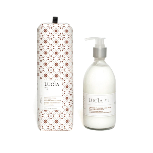 Hand & Body Lotion Goat Milk & Linseed