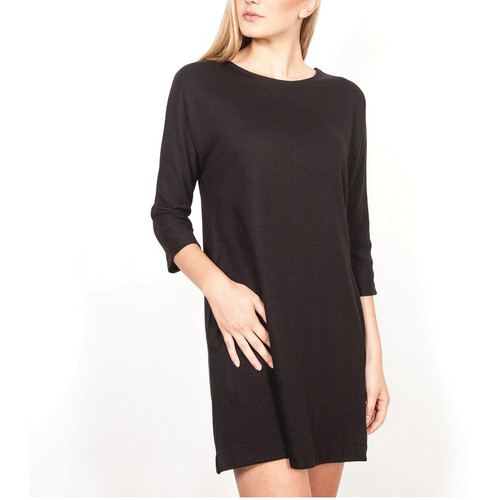 Short Black Dress with 3/4 Length Sleeves