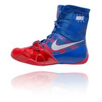 3555456cacde Nike HyperKO - Sport Red   Metallic Silver   Royal Boxing Shoes