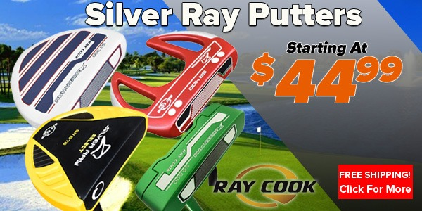 Ray Cook Silver Ray Putters at Rock Bottom Golf!