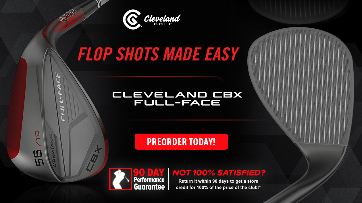 Cleveland CBX Forward Face Wedge - New For 2020!