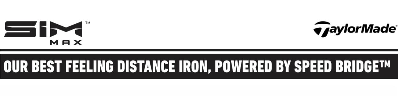 TaylorMade SIM MAX irons header image banner