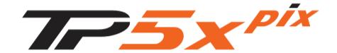 TaylorMade Pix 2020 Golf Ball - TP5x PIX logo