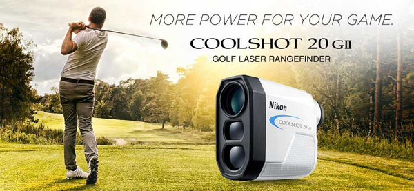 Nikon COOLSHOT Golf Laser Rangefinders at Rock Bottom Golf