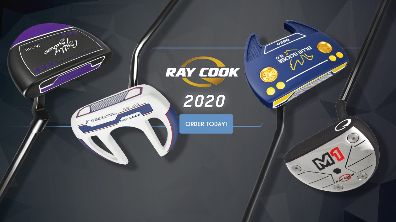 Ray Cook 2020 Putters Are Here!