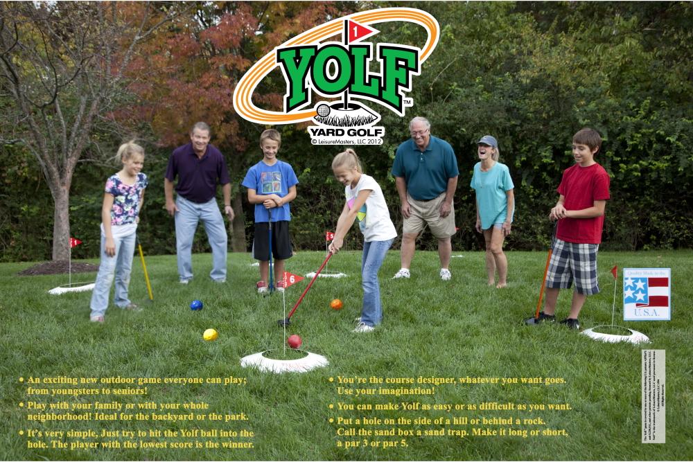 Yolf Golf Yard Golf Game!