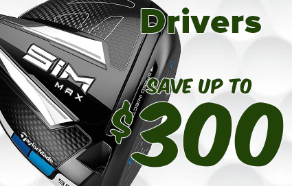 Save Up To $320 On Drivers, Fairways & Hybrids!