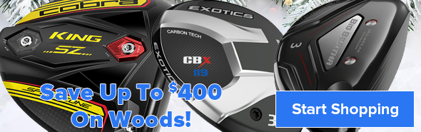 Save Up To $400 On Drivers, Fairway Woods and Hybrids!