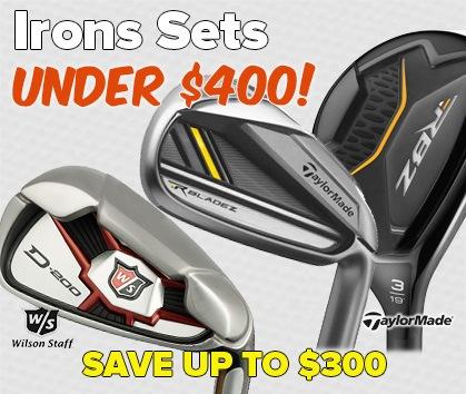 Irons Under $400!