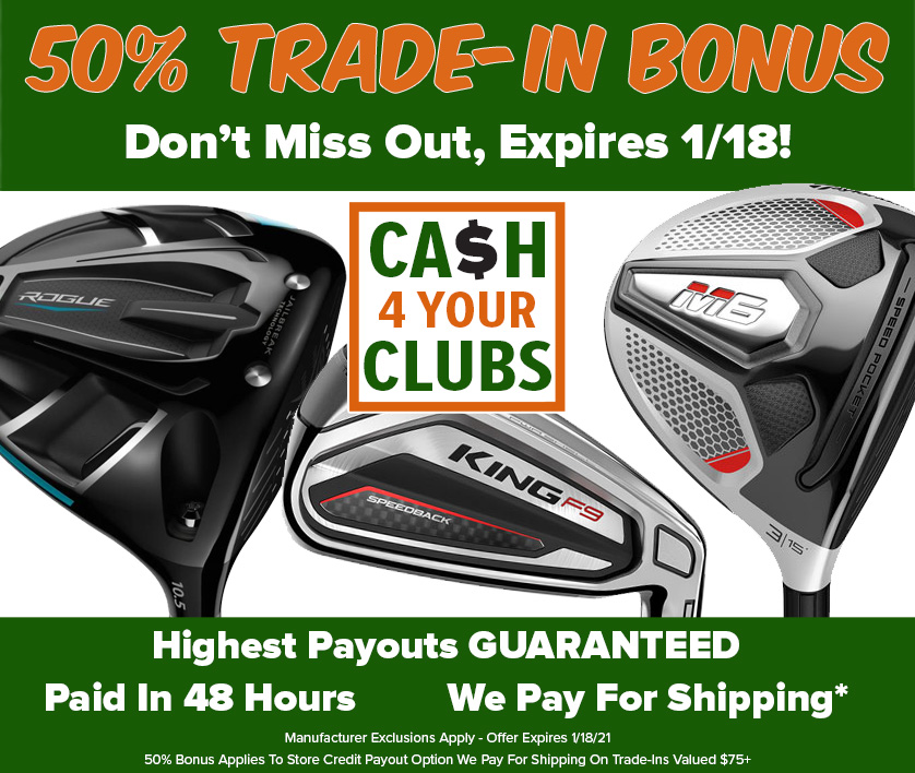 50% BONUS On Trade Ins! Start Yours TODAY! - Limited Time Only!
