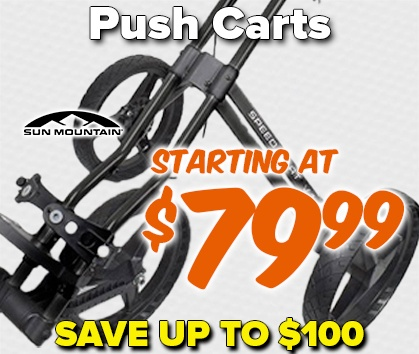 Push Carts Starting At $79.99! Save Up To $100 - Shop Now!