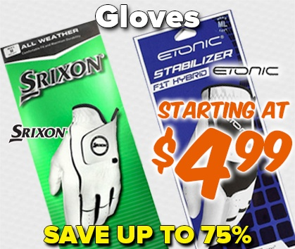 Gloves Starting At $4.99! Save Up To 75% - Shop Now!