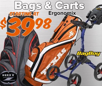 Bags & Carts - Starting At $39.98!