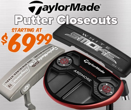 TaylorMade Putter Closeouts - Starting At $69.99!