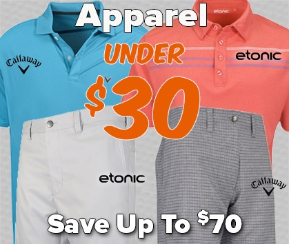 Golf Apparel UNDER $30 - Shop Now!