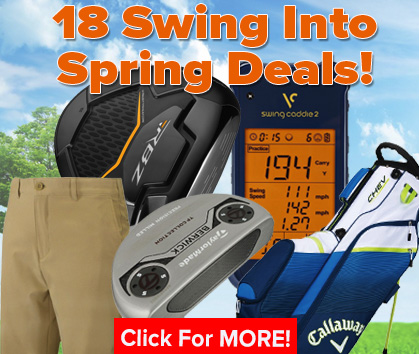 18 Swing Into Spring Deals!