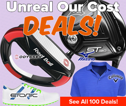 100 OUR COST STEALS! Save Huge! - Shop Now!