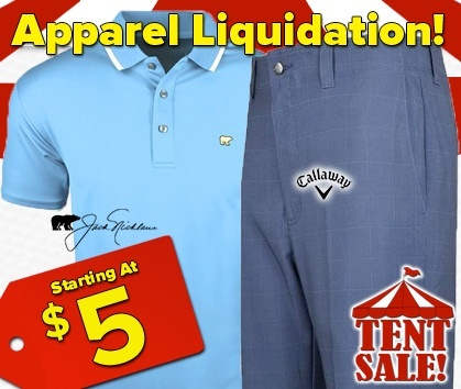 Apparel Liquidation Tent Sale - This Weekend ONLY - Shop Now!