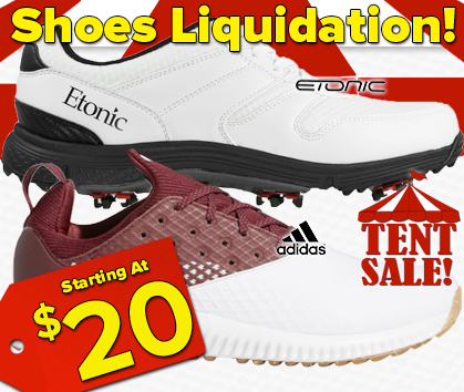 Footwear Liquidation Tent Sale - This Weekend ONLY - Shop Now!