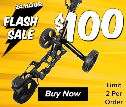 FLASH SALE! Ray Cook RCX Push Carts - $100! - TODAY ONLY - Shop NOW!