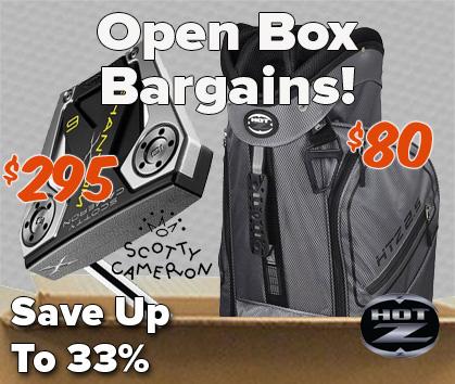 Golf Gear Open Box Deals! - Shop Now!