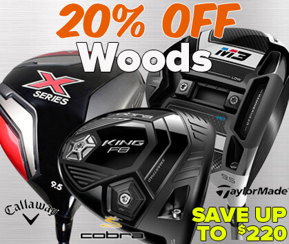 20% OFF Woods - Save Up To $220!