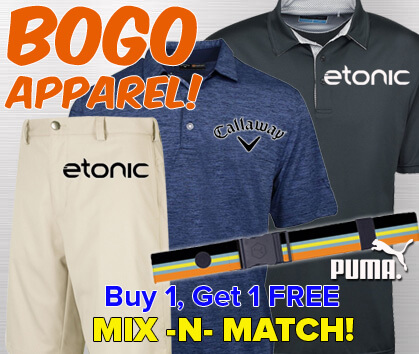 Buy 1, Get 1 FREE Apparel!