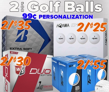 Stock Up & SAVE On Golf Ball STEALS!