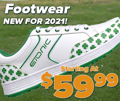 New for 2021 Footwear Starting at $59.99! Mens, Ladies, and Juniors! Shop Now!